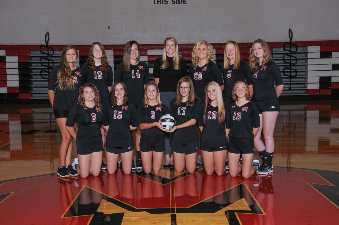 Madison Reserve Volleyball Team